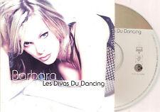 BARBARA - les divas du dancing CD SINGLE 2TR eurodance 2003 BELGIUM