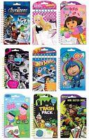 Personaje - Mini Boceto Libro / Pad ( Anker : Colorear/ Arte / / Regalo de