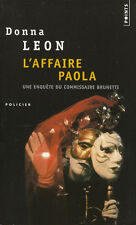 Livre Poche l'affaire Paola  Donna Léon  policier Calmann-Lévy 2003 book