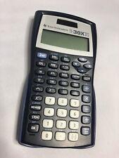 Texas Instrument TI 30 X II S Scientific Calculator w/ Back Piece **TESTED**