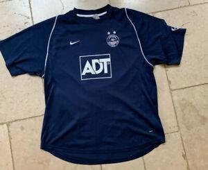 Aberdeen FC Navy Blue Shirt Nike ADT XL 2005 2006  jersey extra Large