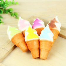 Ice Cream Simulation Squishy Cake Slow Rising Cellphone Charms Toy no Strap
