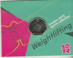 Carded Olympic Weightlifting 50p