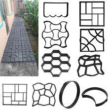 Garden DIY Pavement Mold Stepping Stone Cement Concrete Brick Mould Paving Molds