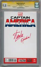 CAPTAIN AMERICA #1 BLANK CGC 9.8 SIGNATURE SERIES SIGNED STAN LEE EXCELSIOR