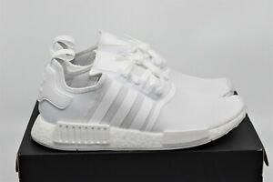 Adidas NMD R1 Triple White Running Shoe FY9384