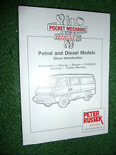 Mazda E2000 E2200 Van Bus Petrol Diesel FE R2 WORKSHOP MANUAL kia bongo 1983-95