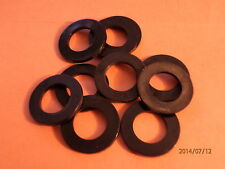 M20   BLACK  NYLON WASHERS  QTY = 10