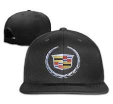Cadillac Car Logo Adjustable Snapback Baseball Hat&Cap Made in 76 Natural