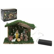 7PC LED CHRISTMAS NATIVITY SET MARY JESUS JOSEPH CHRISTMAS DECORATION