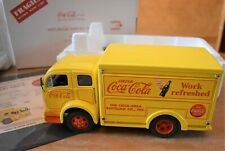 Danbury Mint 1955 COCA COLA DELIVERY TRUCK 1/24TH YELLOWNew In Box