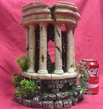 "Poisson Ornement Antique Colonne ruine Air Stone 11 x8.5"" ABRI CACHE Aquarium"