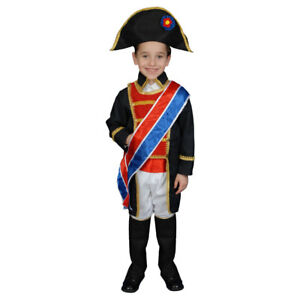 Kids Historical Realistic Looking Napoleon Costume Set By Dress up America