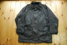 Vintage DAKS Milair Superwax Dark Country Coat Outdoor Field Jacket Large
