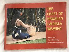 Craft of Hawaiian Lauhala Weaving by Adren Bird 1982 Kolowalu Books Paperback
