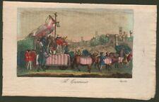 IL CARROCCIO. Tavola dall'opera di Ferrario , circa 1830