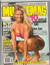 MUSCLEMAG bodybuilding SWIMSUITS magazine/Vicky Pratt 11-98 #197