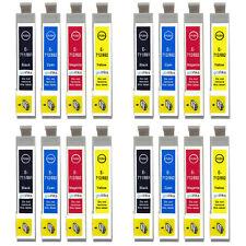 16 Ink Cartridges for Epson Stylus DX4000 DX6000 DX8450 BX600FW SX115 SX405