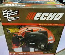 Echo PB-755ST professional grade backpack blower (NEW)