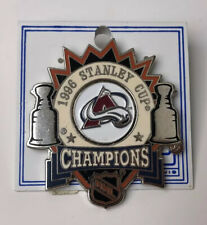 AVALANCHE COLORADO STANLEY CUP CHAMPIONS 1996 NHL HOCKEY PIN New!