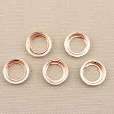 5 pcs Oil Drain Plugs Crush Washers Gaskets Stone 1102601M02 For: Nissan Infinit