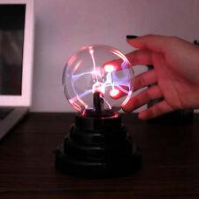 Plasmaball Retro Party Plasmakugel Deko Lichteffekt Plasma Blitze Lampe Leuchte