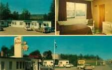 Roadside Postcard Chez Gaston Motel, Mont-Paurier, Quebec, Canada