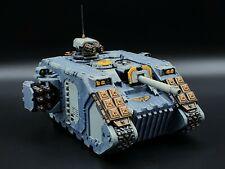 Warhammer 40k Space Wolves Land Raider Crusader Conveted #1 Painted