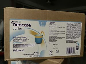 4 Cans Of Neocate Junior Unflavored