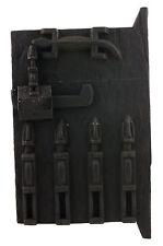 Porte Dogon Grenier Mali 47x28 cm Volet Art africain Ouest Afrique 16527 HG 1