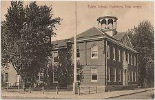 Public School in Paulsboro NJ Postcard