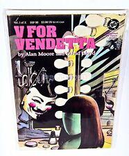 V FOR VENDETTA #1, Alan Moore, David Lloyd 1988 DC COMICS, NM/VF