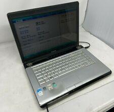 "Toshiba Sat A200, 15.4"", Intel Core 2 Duo, 2GB RAM, NO HDD - Spares & Repairs"