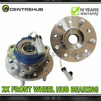 2 Front wheel hub &bearing Assembly Pair Set for Oldmobile Chevy Pontiac W/ABS