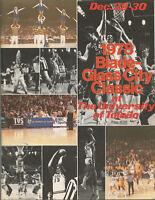 "1978 ""BLADE-GLASS CITY CLASSIC"" BASKETBALL PROGRAM (TOLEDO, VILLANOVA, BGSU)"
