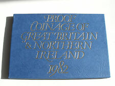 Collectable Royal Mint 1982 Great Britain & North Ireland Proof Coin Set