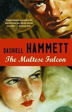 The Maltese Falcon a classic paperback book by Dashiell Hammett FREE SHIPPING