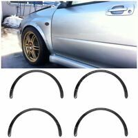 Universal Fender Flares 4 pcs 30 mm 1,18 inches Abs Plastic Glossy