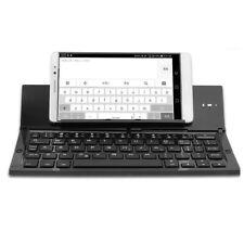 Bluetooth Keyboard Touchpad Foldable Tri-fold Triple Wireless For iPad PC