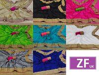 Saree Sari Indian Designer Wear Silk Pakistani Wedding Blouse Party New Fancy Sc