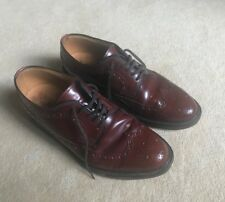 Mens Loake Brown Leather Brogues Size 7