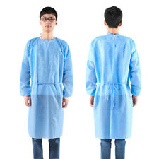 Unisex Gowns Surgery Gown Doctor Nurse Workwear 3/4-Cover