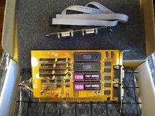 Siig IO1825 v2.0 16-Bit ISA 4-port Serial Expansion Card I/O Expander 4s