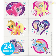 MY LITTLE PONY PARTY SUPPLIES 24 TATTOOS BIRTHDAY LOOT BAG FAVOURS