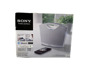 New Sony Portable Bluetooth Wireless Speaker White (SRS-BTM8)