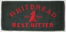 WHITBREAD BEST BITTER (Green) Pub Beer BAR TOWEL