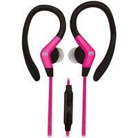 ECKO EKU-OCT-PK Octane Sport Hook Earbuds with Microphone (Pink)