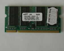 1024MB RAM Speicher Dell Latitude C540 C640 C840 D400 D600 1GB Arbeitsspeicher