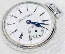 Antique Illinois 16s 17j Grade 174 Pocket Watch