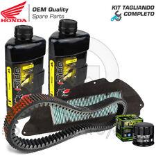 Kit Tagliando Honda SH 300 Cinghia Trasmissione Filtro Aria/olio Castrol 10w30